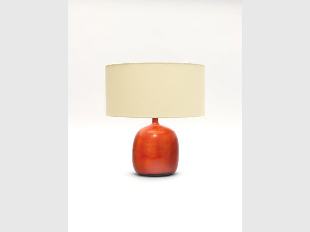 Lampe Boule Ovoïde - Jacques et Dani Ruelland, l'amour de la céramique