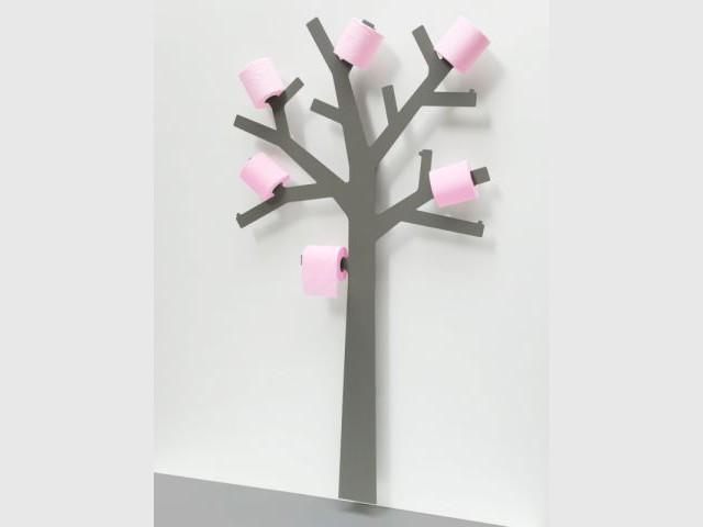 Un arbre à papier hygiénique - Toilettes originales