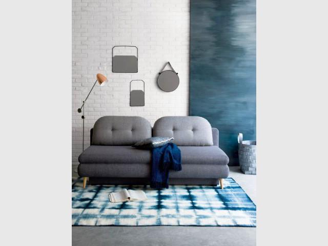 Du mobilier de salon aux formes empruntées aux années 60 - Salon 60's