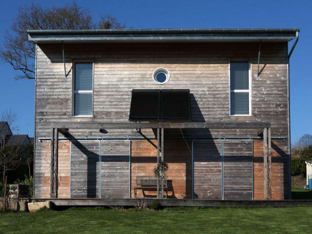 Bardage bois en Douglas - Maison Vannes - Patrice Bideau