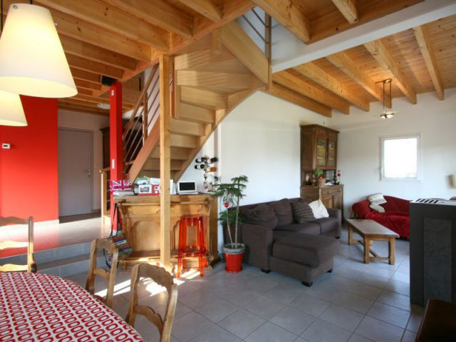 Un rez-de-chaussée sur deux niveaux - Maison Vannes - Patrice Bideau