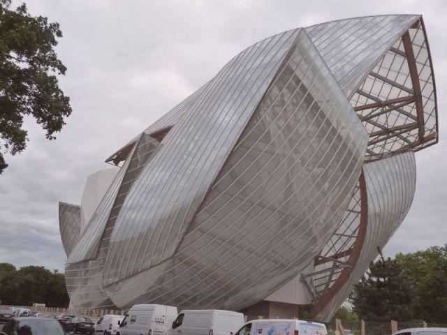 Nuage transparent - Fondation Louis Vuitton