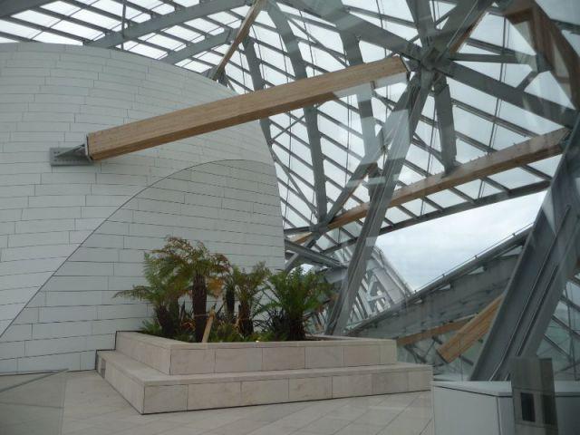 Terrasses aménagées - Fondation Louis Vuitton