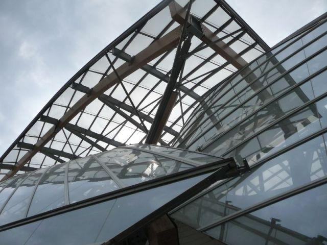 Voiles de verre - Fondation Louis Vuitton