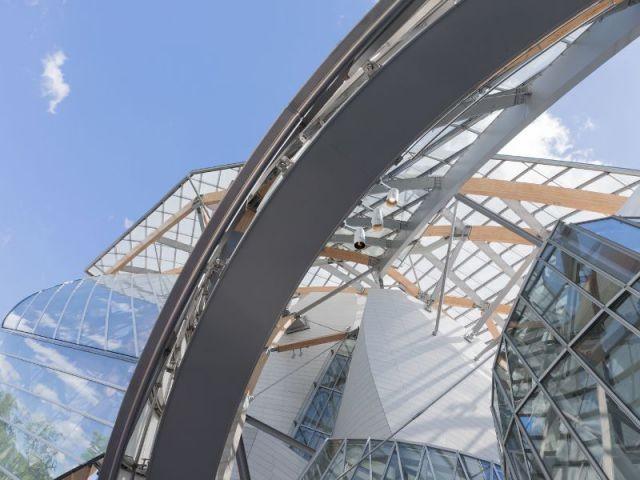 Structure complexe - Fondation Louis Vuitton