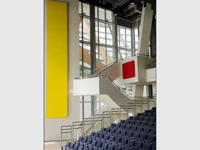 Touches de couleur - Fondation Louis Vuitton