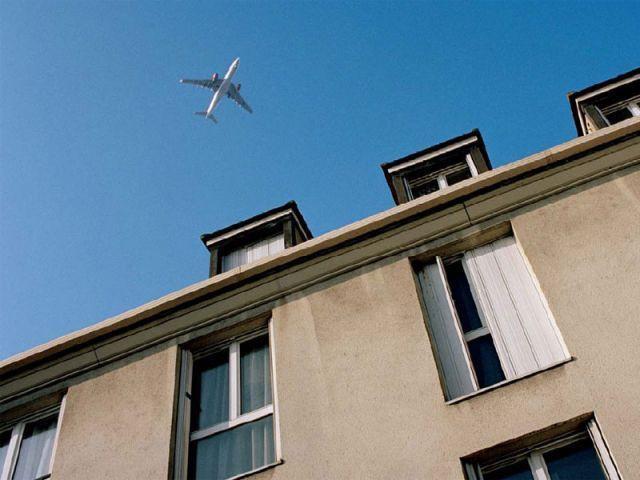 avion immeuble