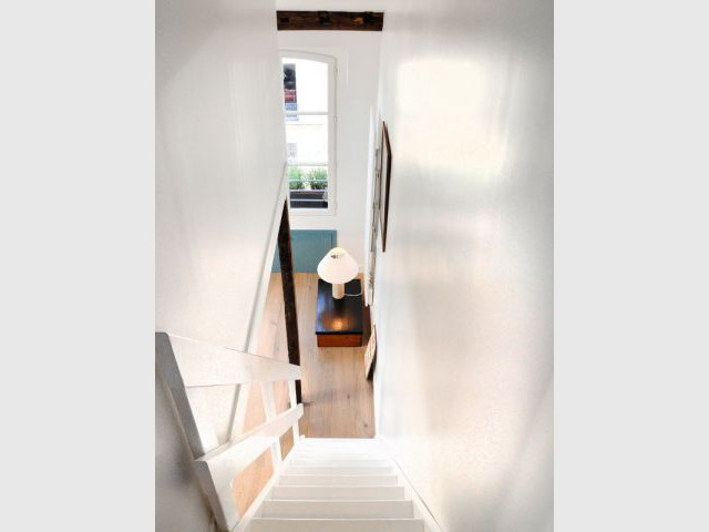 Fiche technique du projet - Rénovation d'un appartement sous pente Moutiez Haller
