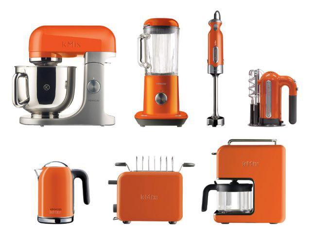 Une gamme d'électroménager orange pour une cuisine au top - Autour de la couleur orange