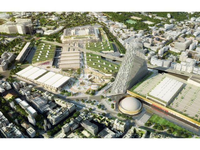 Futur parc des expos de la Porte de Versailles