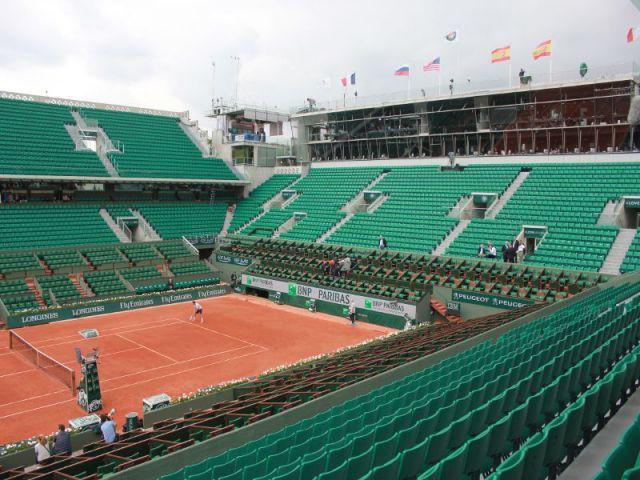 Modernisation et nouveaux visuels du Stade Roland-Garros à la Porte d'Auteuil