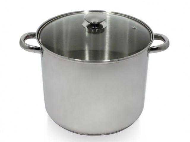 Un casserole format XXL pour les soupes familiales - Autour de la soupe