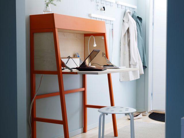 Une entrée optimisée grâce à un meuble multifonction - Entrée optimisée