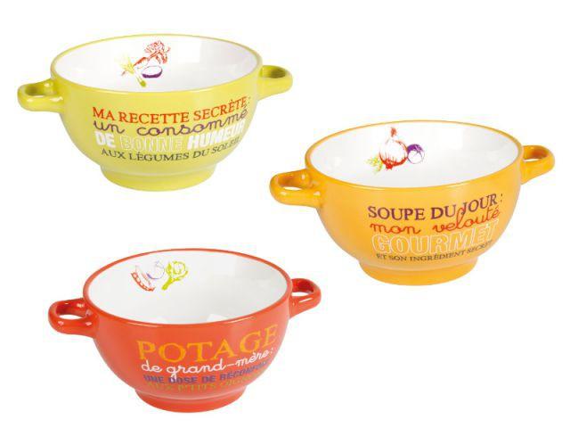 Des bols colorés pour une dégustation pleine de bonne humeur - Autour de la soupe