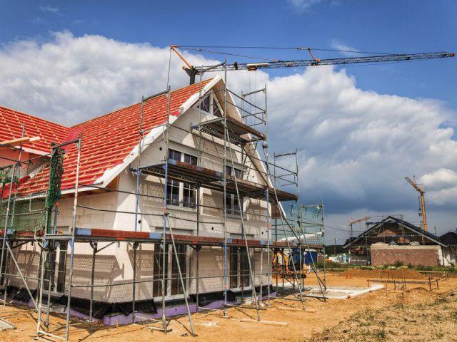 Maison en chantier de rénovation
