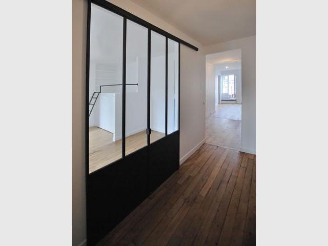 Facilité d'ouverture et transparence pour accroître la convivialité du lieu - Espace de nuit partagé