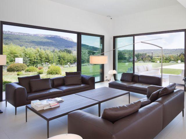 Une maison dedans-dehors - Villa moderne aux vues traversantes