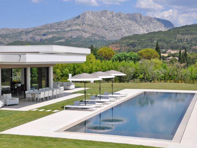 Des extérieurs à vivre - Villa moderne aux vues traversantes