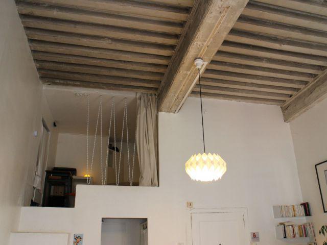 Une mezzanine comme un étage supplémentaire - Rénovation appratement canut
