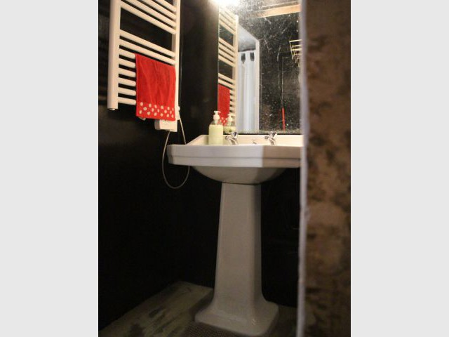 Une salle de bains rétro-chic - Rénovation appratement canut