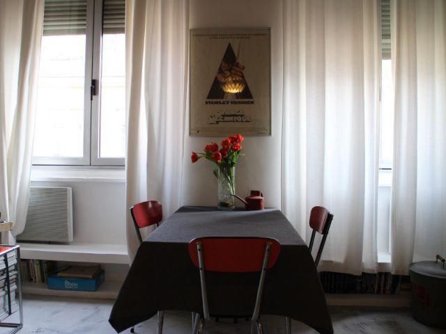 Une partie salle à manger pour recevoir - Rénovation appratement canut