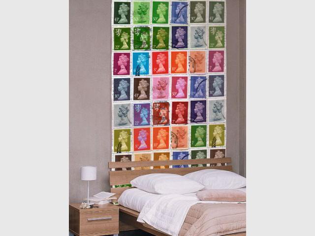 Un lé de papier peint original : 49 € le rouleau - Idées pour relooker sa chambre