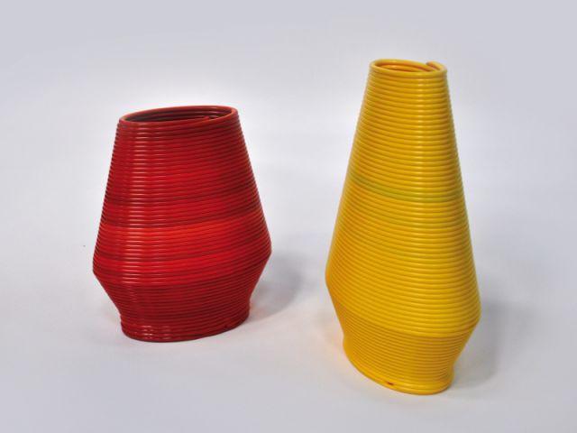 Des vases réalisées en 3D