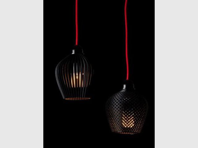 Luminaires 3D de Samuel Bernier