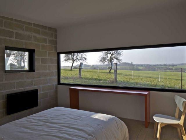 Le paysage omniprésent à l'intérieur des blocs - Maison aluminium