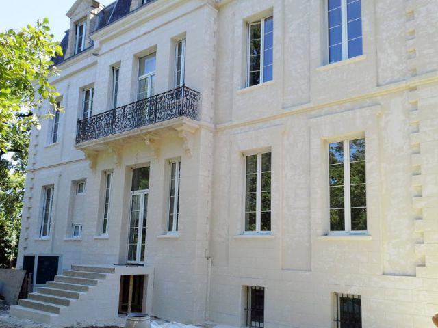 Un chantier complexe et minutieux - Ravalement de façade d'un château du XIXème