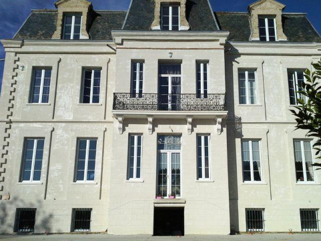 Les finitions et la couleur dans les mois à venir - Ravalement de façade d'un château du XIXème