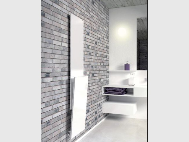 Un sèche-serviette en relief pour dynamiser une pièce tout en sobriété - Dix chauffages design pour un intérieur classe