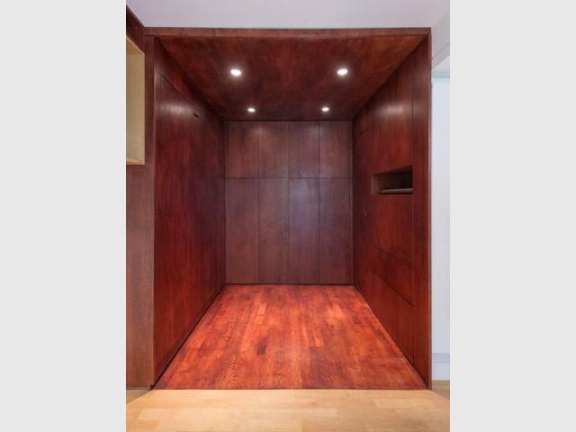 La chambre totalement repliée - La chambre