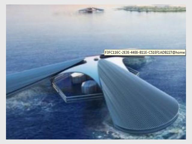 """Prix """"Architecture et problématique de la montée du niveau des océans"""" - Les prix Jacques Rougerie 2014"""