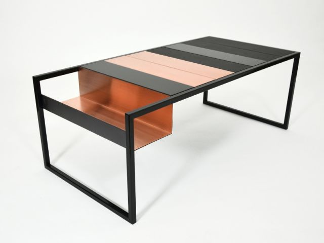 Une table basse modulable