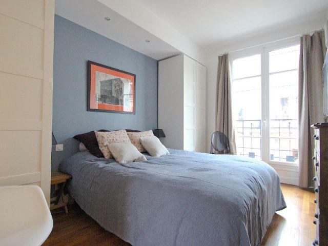 Une nouvelle chambre à la place de l'ancien séjour - Une salle de bains dynamise un appartement mal agencé