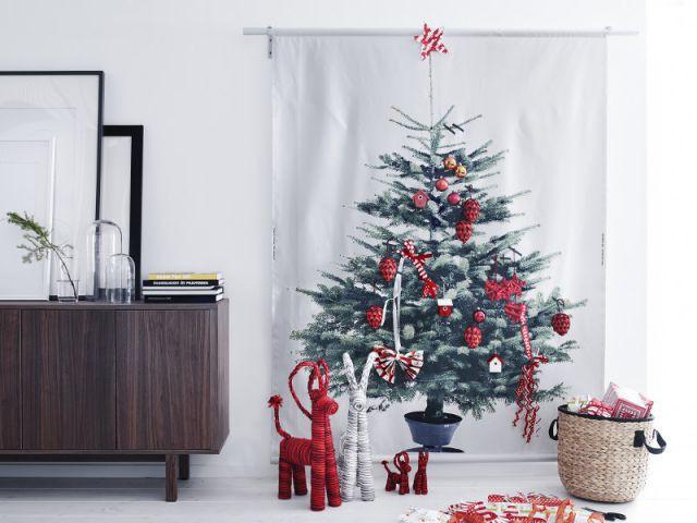 Un sapin imprimé sur une toile pou un Noël sans contraintes - Sapin de Noël