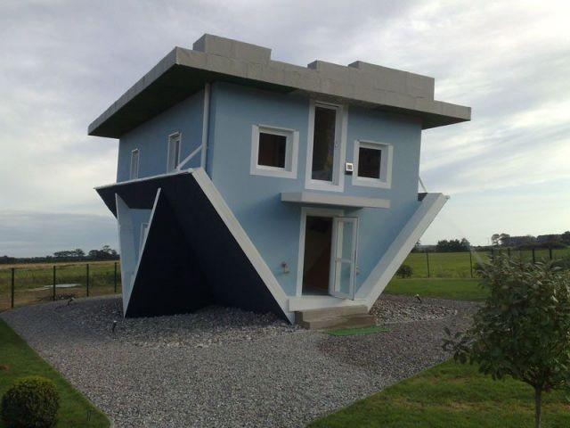 Une maison sur la tête