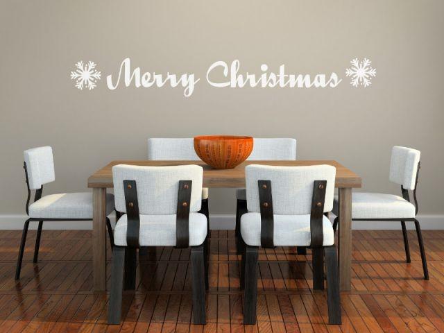 L'esprit de Noël dans la salle à manger - L'esprit de Noël souffle dans toute la maison