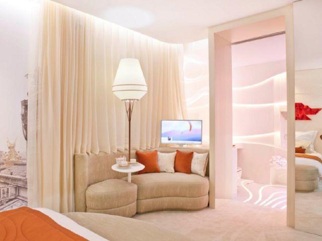Une chambre qui facilite la circulation - Une chambre d'hôtel accessible