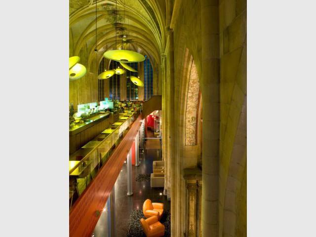 Réception et café dans l'ancienne église - Hôtel Kruisheren, Maastricht