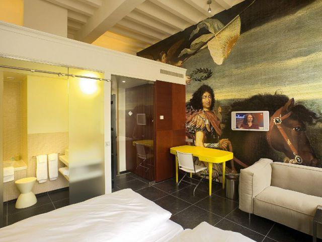 Une fresque dans chaque chambre - Hôtel Kruisheren, Maastricht
