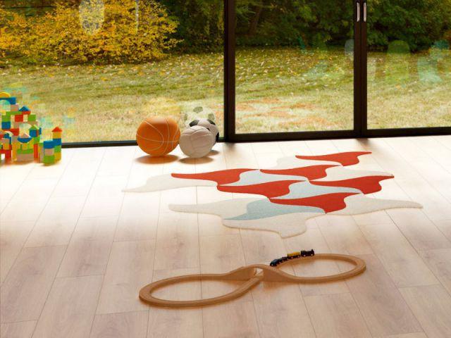 Un sol souple sain à base de matières renouvelables - Une chambre écolo pour mon enfant