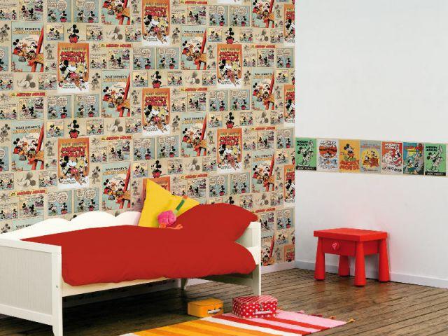 Un papier peint recyclable issu de forêts durablement gérées - Une chambre écolo pour mon enfant