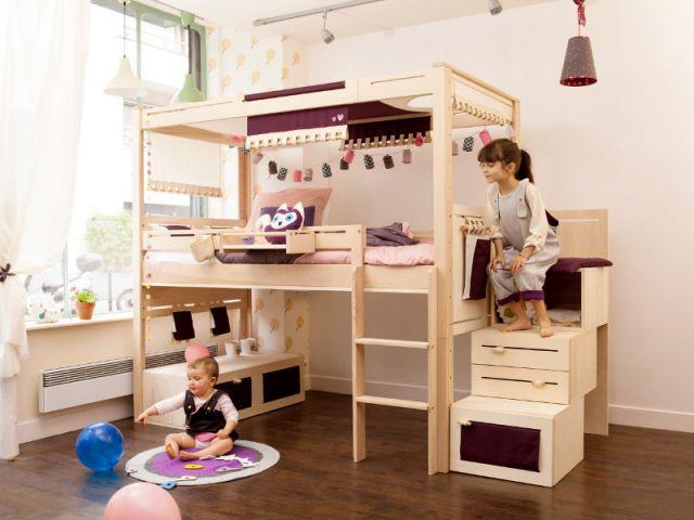Du mobilier évolutif en bois non traité - Une chambre écolo pour mon enfant