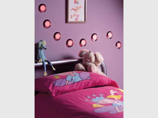 Des éclairages LEDs économes en énergie - Une chambre écolo pour mon enfant