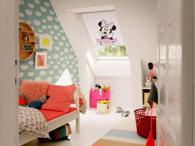 Un store occultant en textile écologique - Une chambre écolo pour mon enfant