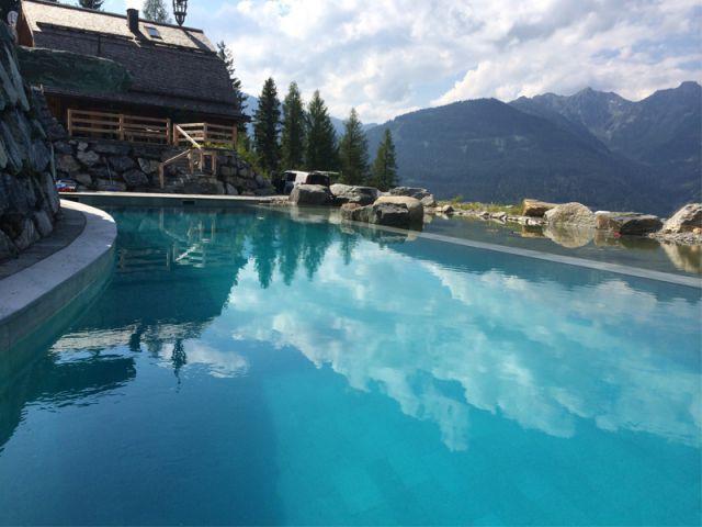 Baignade écologique avec panorama alpin 1/2 - Baignades naturelles