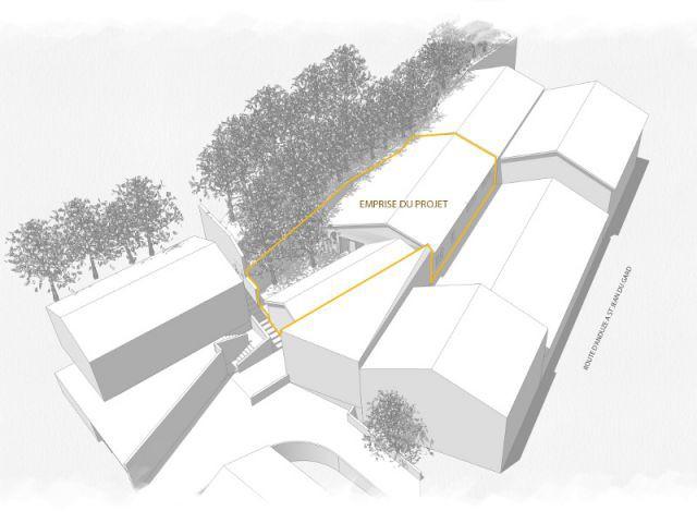 Une rénovation qui se concentre sur 300 m2 enclavés - Reconversion d'une ancienne papeterie en loft contemporain