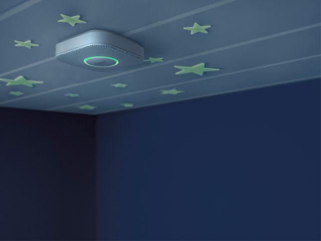 Un détecteur qui brille dans la nuit - Détecteurs de fumée